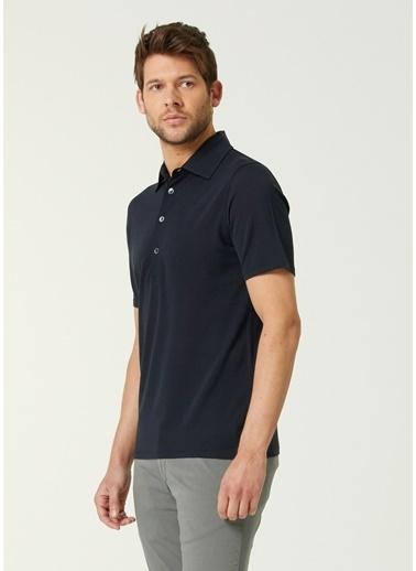 Alpha Studio Polo Yaka T-shirt Mavi
